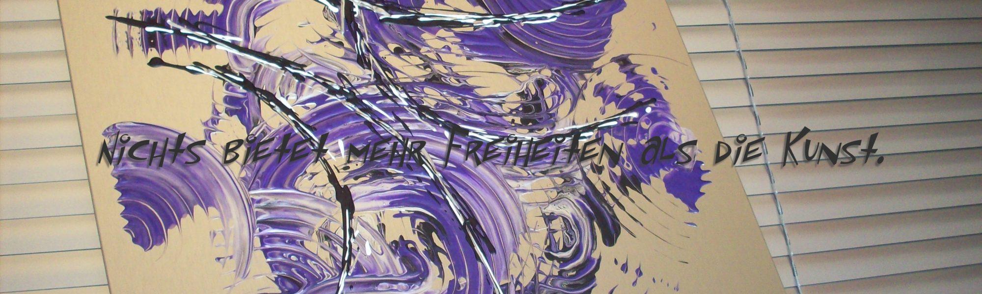 Slide Startseite Alu violett